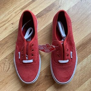 e36e0f9983 Vans Shoes - Vans Authentic Design Assembly Corduroy Sneakers